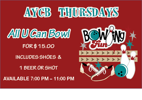 All You Can Bowl Thursday